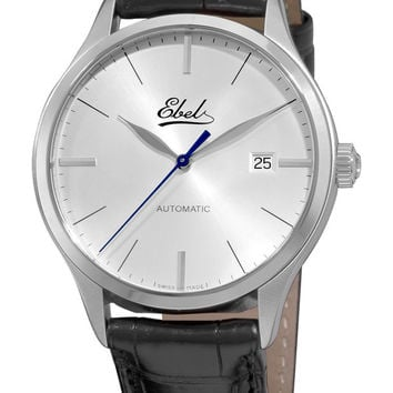 Ebel Mens Automatic Watch 9120R41/6430136
