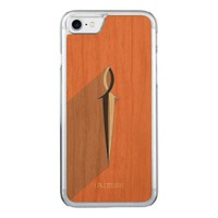 Jesus Fish Sword Carved iPhone 8/7 Case
