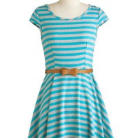 Under the Texan Sun Dress in Aqua | ModCloth.com