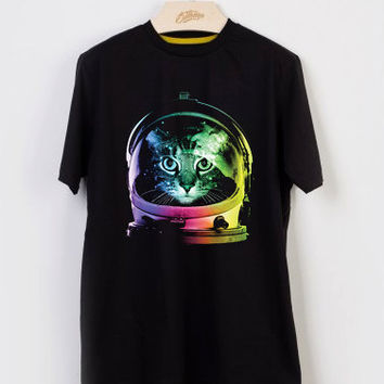 Space Cat T-shirt Men, Women Youth and Toddler