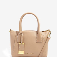 Small leather tote bag - Mink | Bags | Ted Baker
