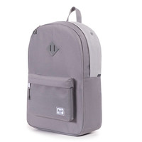 Herschel Supply Co.: Heritage Backpack - Grey Micro Polka Dot