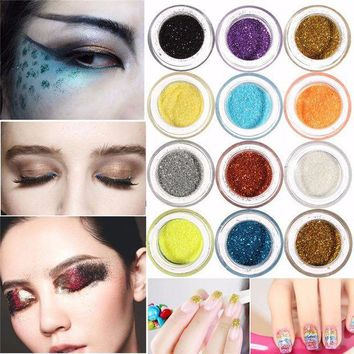 CREYONHC Free shipping+49%off+fashion makeup mineral eyeshadow pigments half glitter eye art cosmetic eye shadow pallete multiple colors