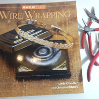 Jewelry Making Book Wire Wrapping Jewelry Studio by Linda Chandler and Christine Ritchey Brand NEW