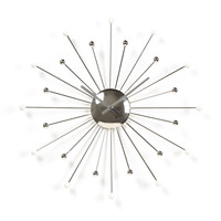 "Ashton Sutton 18"" Starburst Wall Clock"