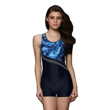 DCCK7N3 Professional Bodysuit Swimsuit Women Sport Swimwear Push up Bathing Suit Boyshorts Beach L-3XL
