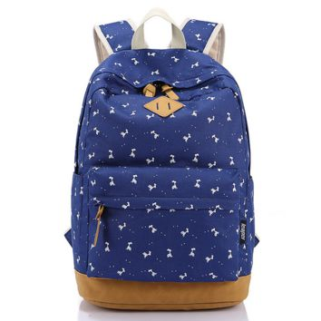 Printed Travel fashion bag Unique Backpack for College Daypack School Bookfashion bag
