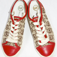 Michael Kors Red City Sneaker