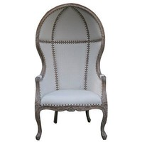 Noir Dome Chair Gray Wash