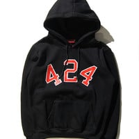 Couple Alphabet Hats Pullover Hoodies [10309458311]