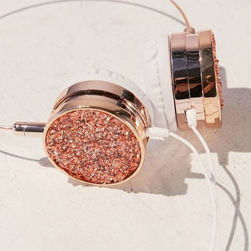 Skinnydip Pyrite Headphones - Urban Outfitters
