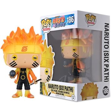 Funko POP Kids Toys Gifts Cook Naruto Six Path Sage Mode Action Figure Vinyl