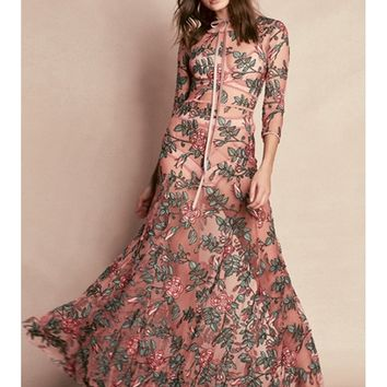 For Love and Lemons Rosali Maxi Dress | Boutique To You