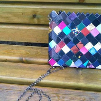COLORFUL clutch handbagvalentines day gifts by colorfulconcept