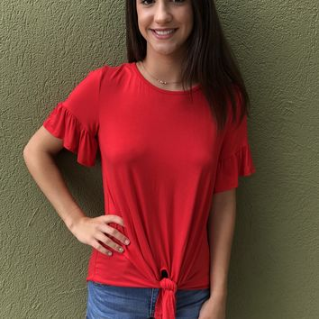 Tease Me Top - Red