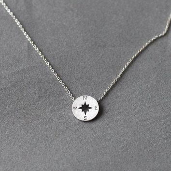 Wanderlust Necklace (Silver)