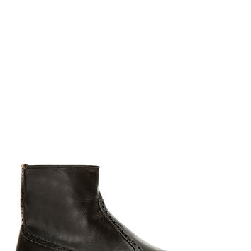 Ps By Paul Smith Black Leather Lenny Chelsea Boots