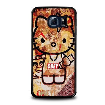 OBEY HELLO KITTY Samsung Galaxy S6 Edge Case Cover