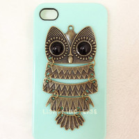 owl  iphone 4 case cover iphone 4s case iphone 5 case iphone 5 cover