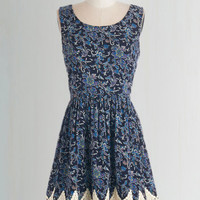 Boho Mid-length Sleeveless A-line Boho Romance Dress