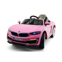 BWM Style Kids Electric Ride-On Toy Car For Kids | Pink - Walmart.com
