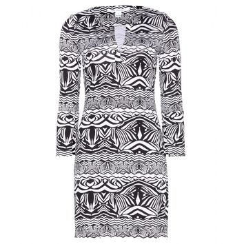 diane von furstenberg - new reina two printed silk-jersey dress