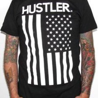 Hustler T-Shirt - US Flag