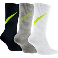Adult Nike Dri-FIT Cotton Swoosh HBR Crew Socks 3-Pack | Scheels