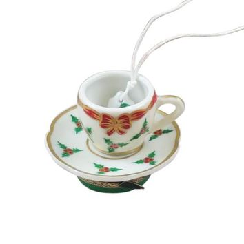 Christmas Tea Cup Limoges Boxes