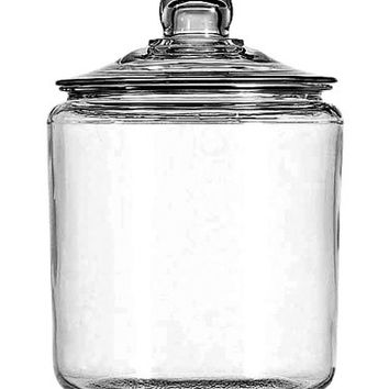 Anchor Hocking 69349T 1 Gallon Glass Jar with Lid