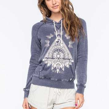 Billabong Take Away Womens Hoodie Ice Blue  In Sizes