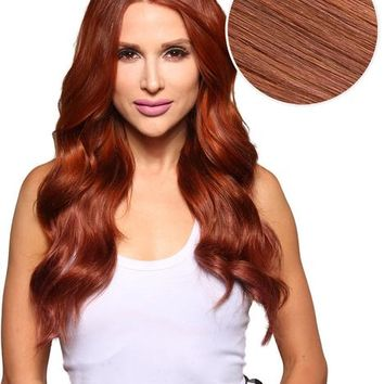 Bambina 160g 20'' Vibrant Red Hair Extensions (#33)