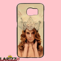 "Lana Del Ray Crown for iphone 4/4s/5/5s/5c/6/6+, Samsung S3/S4/S5/S6, iPad 2/3/4/Air/Mini, iPod 4/5, Samsung Note 3/4 Case ""002"""