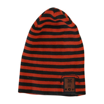 24/7 Bluetooth Beanie in Olive and Burnt Orange-Tapiture Exclusive