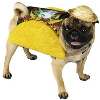 Taco Pooch Costume (Small)