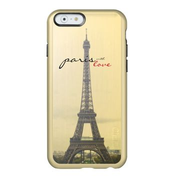 Paris with Love Incipio Feather® Shine iPhone 6 Case