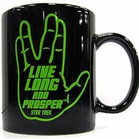 Star Trek Coffee Mug - Live Long And Prosper