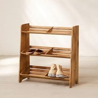 Sasha Wooden Shoe Storage Rack | Urban Outfitters