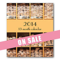 2014 Calendar - Ballet - Dance - Ballet Shoes - Tutu - Pointe - Pointe Shoes - Jewel Case - Holiday Gift - Desk Calendar - Home and Office