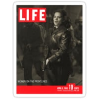 Peggy Carter Life Magazine Cover by semisweetshanno