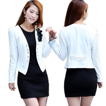 Office Fashion Women Slim Suit