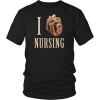 Nurse T Shirt - I heart Nursing