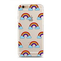 for iPhone 7/7S Plus - Super Slim Case - Gay Pride - Lgbt Pride - Lgbt Gifts - Lover And Cute Gay - Rainbow (C) Andre Gift Shop