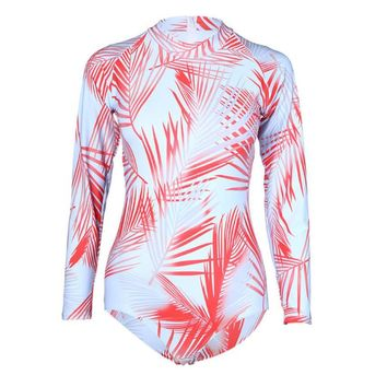Long Sleeve Surfing Swimsuit