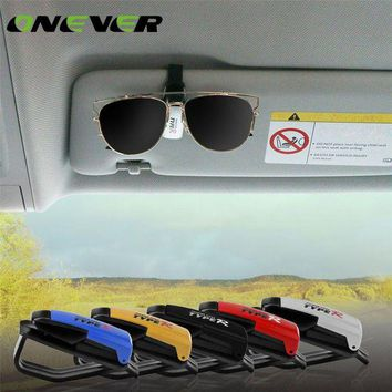 ONETOW Onever Universal Auto Car Fastener Clips Sun Visor Glasses Sunglasses Ticket Card Pen Organizer Clip Holder Eyeglasses Case Box