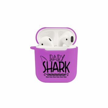Shark Family Airpod Protective Case By Pink Box - Baby Shark
