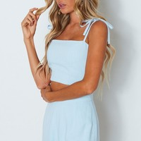 Love On The Run Cami Baby Blue