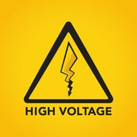 High Voltage Art Print by Iwilding