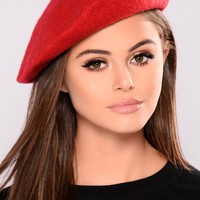 Bonjour Baby Beret - Red