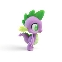 My Little Pony - Spike the Dragon (≈50mm tall) by SFAMelindaRose on Shapeways